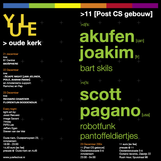 Yule Closing Party Flyer