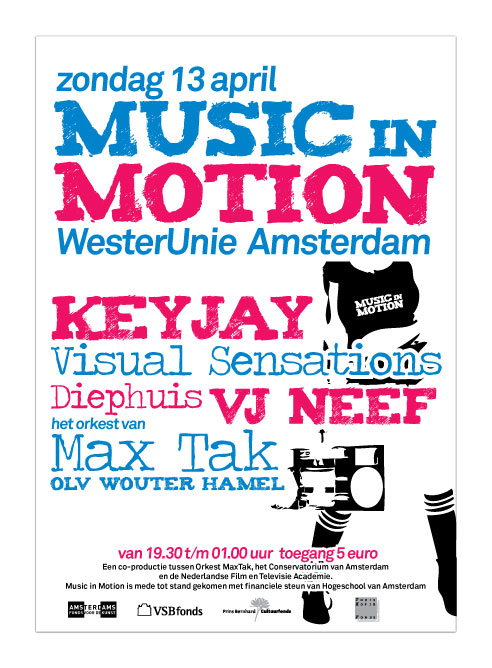 Music in Motion flyer