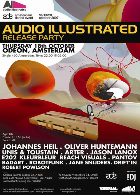 Audio Illustrated poster
