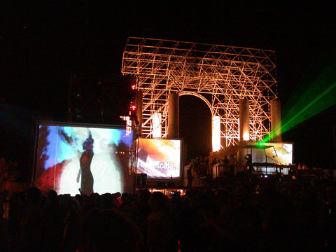 Kazantip 2007 Mainstage with Timo Maas